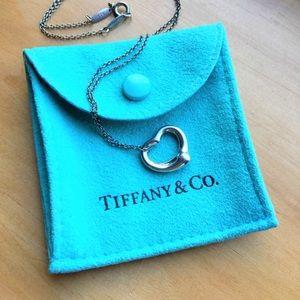 Tiffany & Co. Elsa Peretti Open Heart 925 necklace